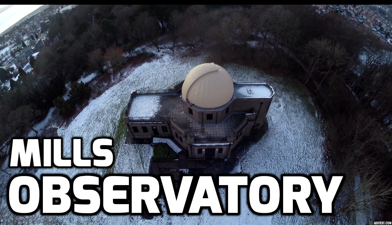 Mills Observatory, Dundee, Scotland